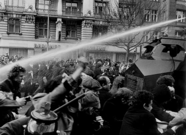 Vietnam -  solidaritetsdemo i Berlin 1968