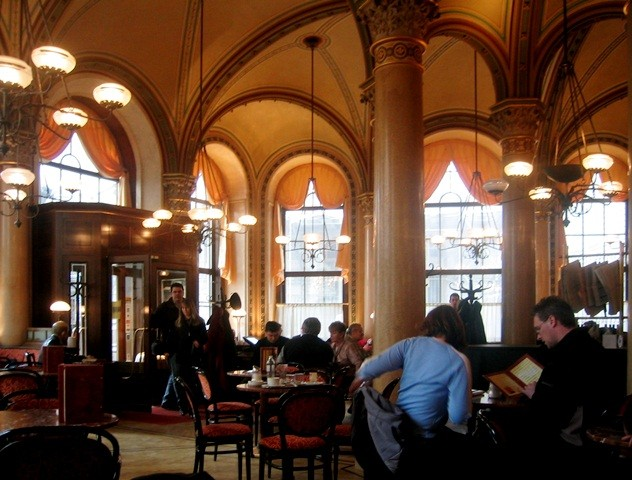 Café Zentral i Wien