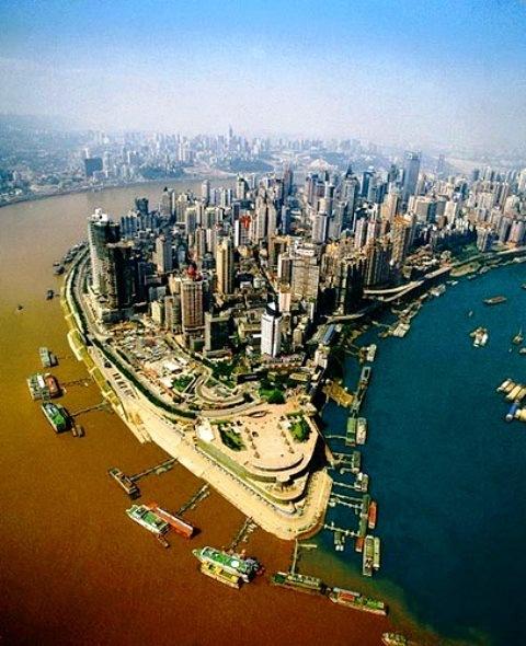 Megabyen Chongquin har 30 millioner indbyggere