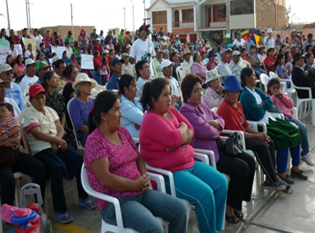 Folkemøde i de peruanske 'comedores populares'