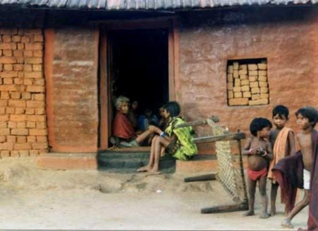 Fattige landsbybeboere