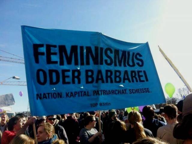 8.marts demo i Berlin