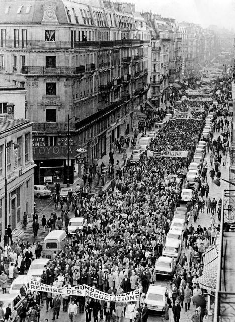Vietnam -  solidaritetsdemo i Paris 1972