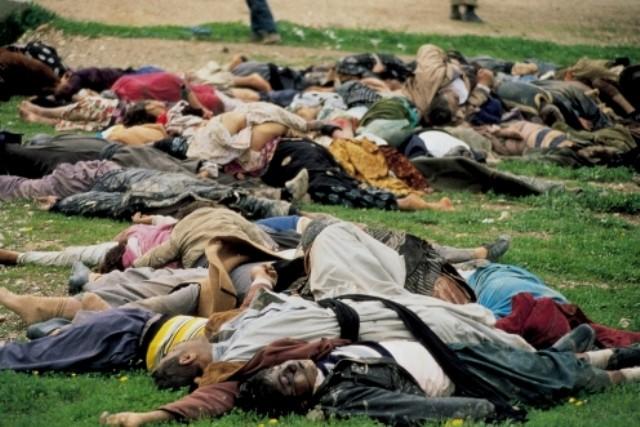 Saddam Husseins giftgasangreb mod kurderne i 1988 i byen Halabdsha