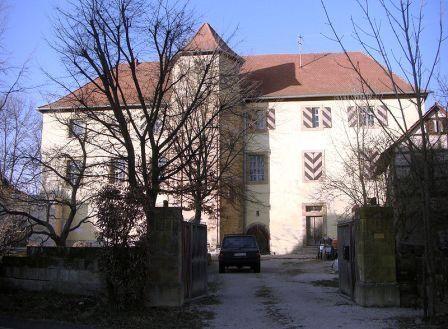 Nazilederen Hoffmanns hovedkvarter i Schloss Emreuth