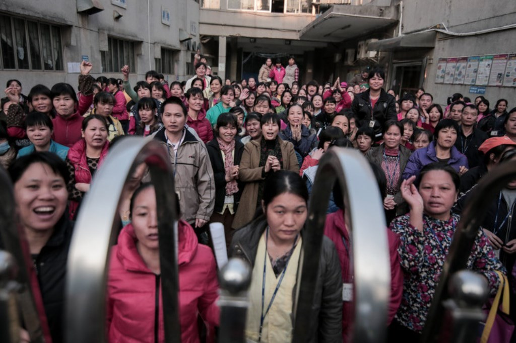 Shenzhen Migrant Workers Struggle for Pensions