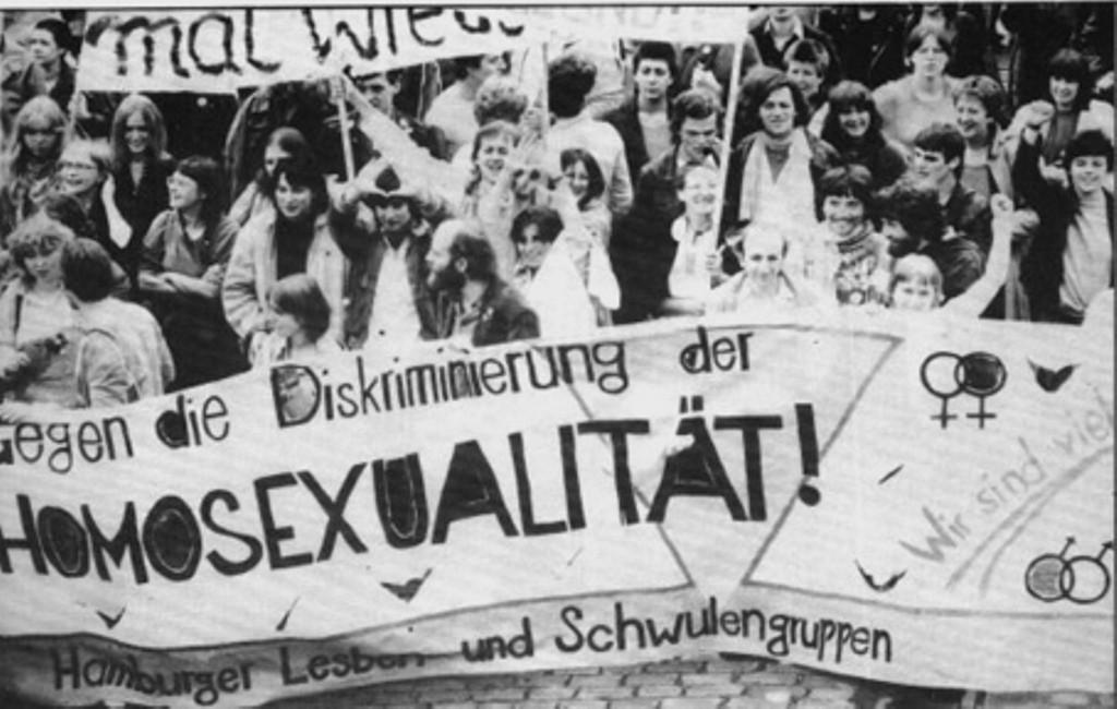 Autonom demo af bøsser, transer og lesbiske aktivister