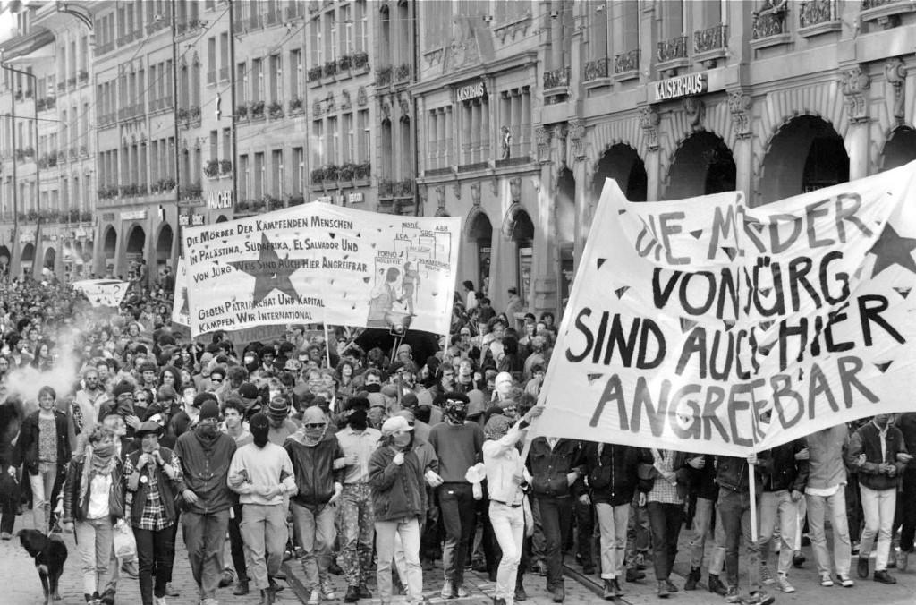 Den autonome bevægelse i 1980'erne i Tyskland