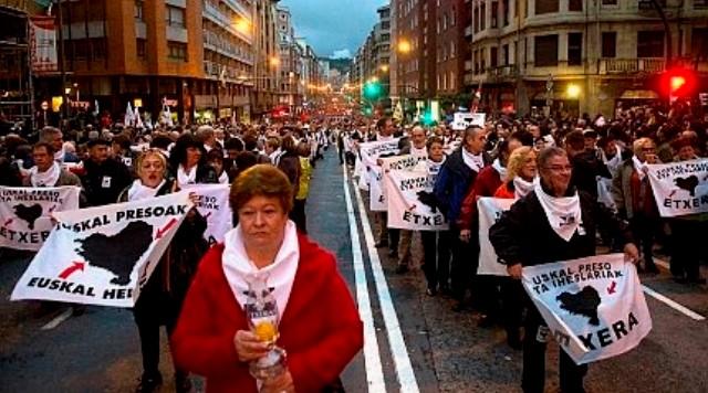 """""""Baskiske fanger hjem til Baskerlandet"""""""