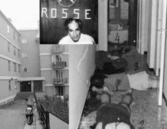 Da politiet trængte ind i lejligheden, hvor Aldo Moro var blevet holdt som fange i en periode, henrettede de samtlige tilstedeværende i boligen
