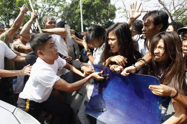 8.marts demo i Manila, Filippinernes hovedstad