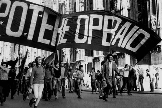 """Potere Operaio"" - den første venstreradikale, operaistiske arbejderorganisation"