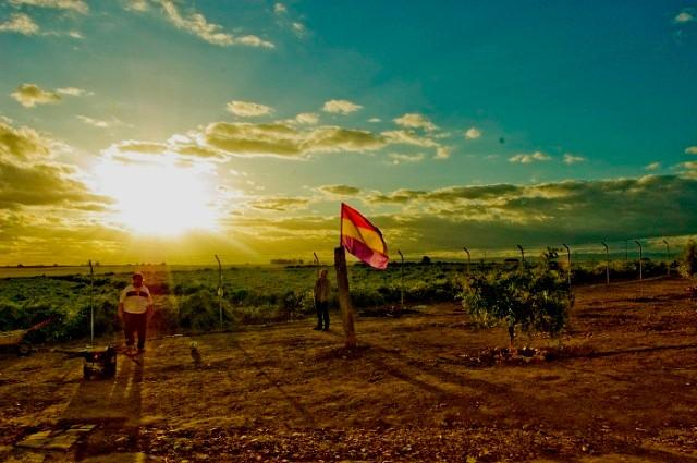 SAT-landbesættelse af en gård med 359 hektar land i Andalusien