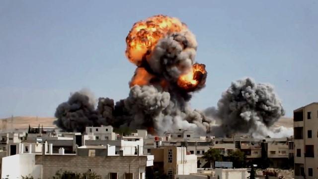 Assad-hæren bombarderer oprørske landsbyer