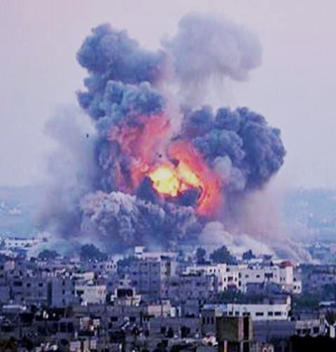 Gaza-by, d. 9. juli 2014