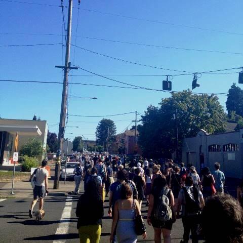 Demo i Portland