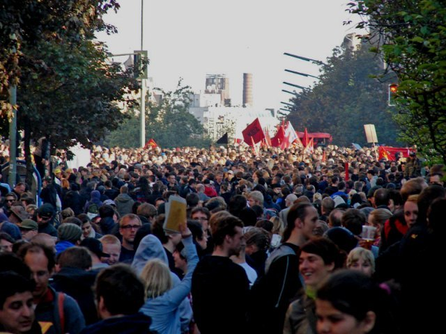 Revolutionære 1.maj-demo, Berlin 2011