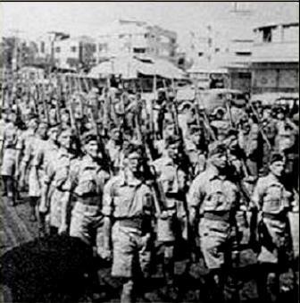 Hagana var en jødisk paramilitær organisation i det daværende britiske mandatområde i Palæstina