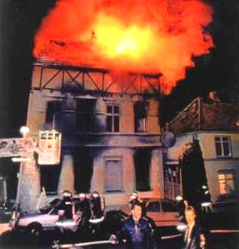 Brandattentatet den 23. november 1992 mod to nabohuse i den lille by Mölln