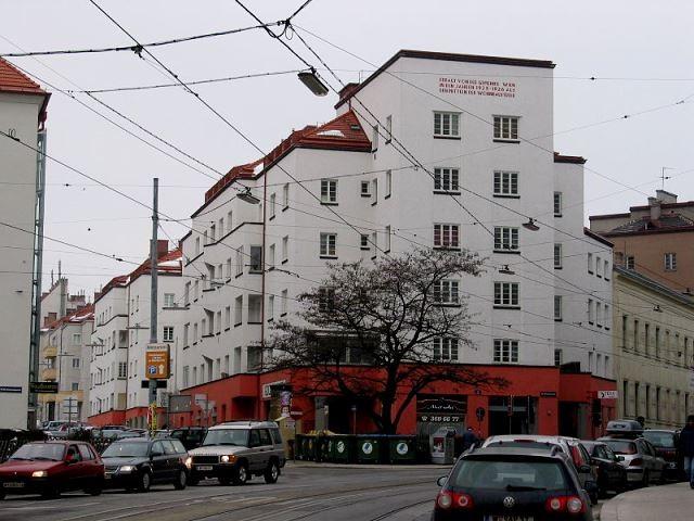 Pestalozzi Hof i Wiens 19. distrikt 'Döbling'
