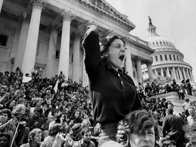 USA, den 15. november 1969: 1.200 000 på gaden imod Vietnamkrigen