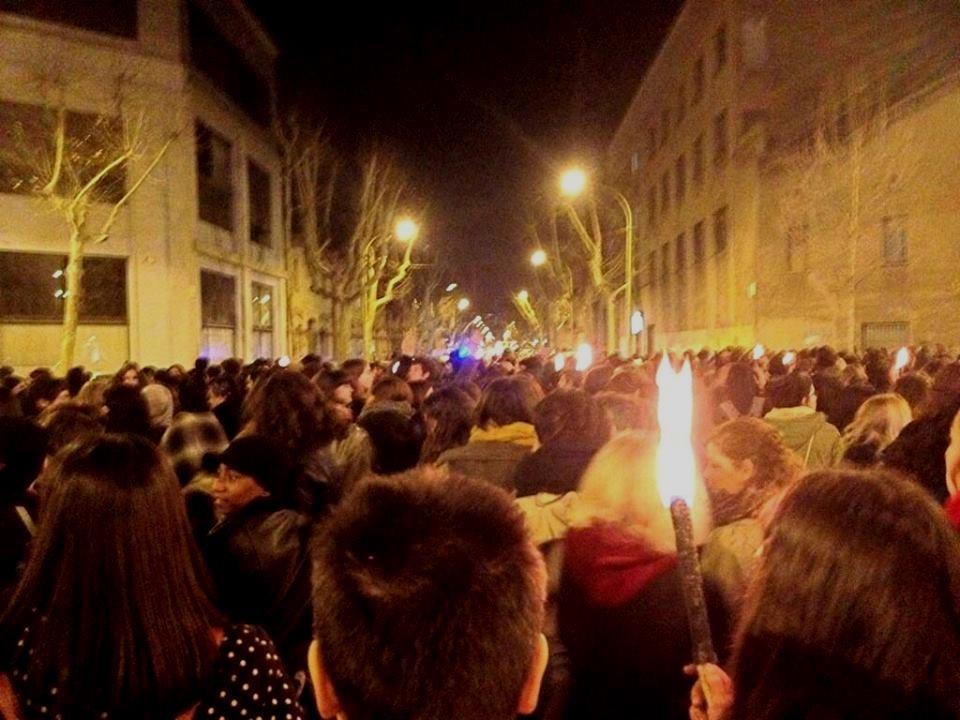 """8.marts i Barcelona: """"Vi er de hekse som vore bedstefædre har glemt at dræbe"""""""