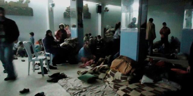 Beskyttelseskælder i Homs