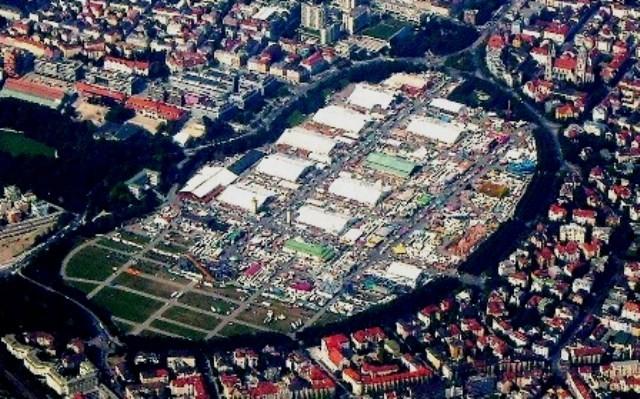 """Oktoberfest-areal """"Wiesen"""" i München med op til 6 millioner besøgende"""
