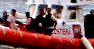 Sept.09: Rekognosceringsskib ud for Calabriens kyst ifm. et sunket fragtskib med formodentlig radioaktivt affald.