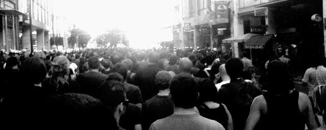 Antifa-demo i Athen, den 1. september 2012