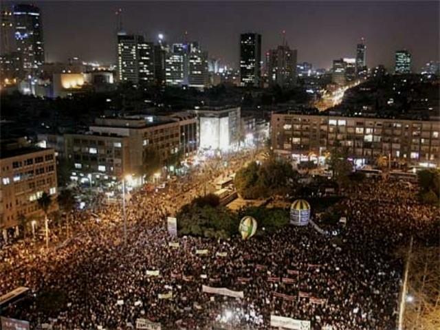 Modstanden fra neden mod Netanyahu-regeringens neoliberalistiske politik
