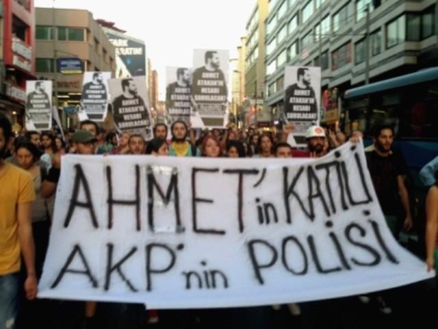 Demonstration mod politivold og regeringspartiet AKPs ansvar