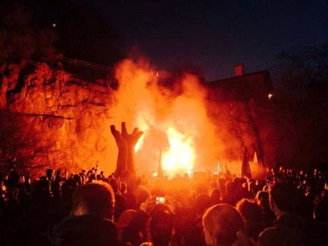8.marts demo i Malmö, forud det fascistiske overfald