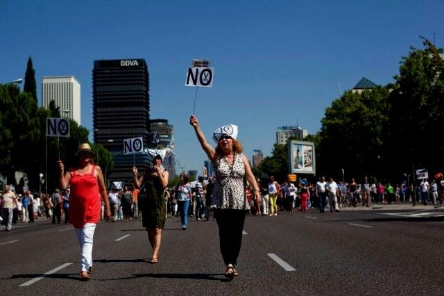 SAT-demoblok mod den borgerlige krisepolitik