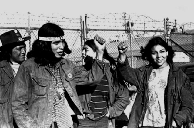 AIM-aktivister besætter Alcatraz-øen den 20. november 1969