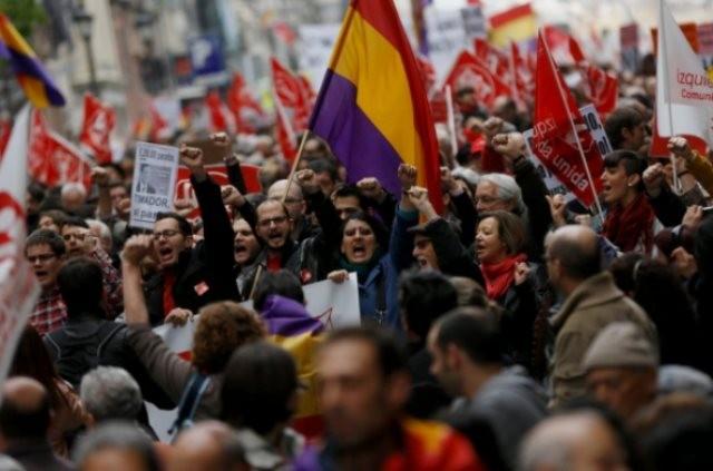 1. maj i Madrid