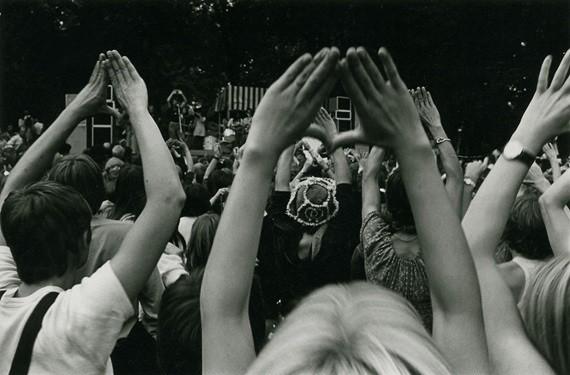 Radikal-feministisk kvindefestival i 1970' erne i Fælled Parken