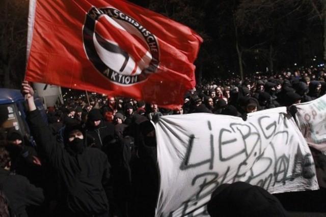 3000 demonstrerede i aftes i Berlin mod rydningen
