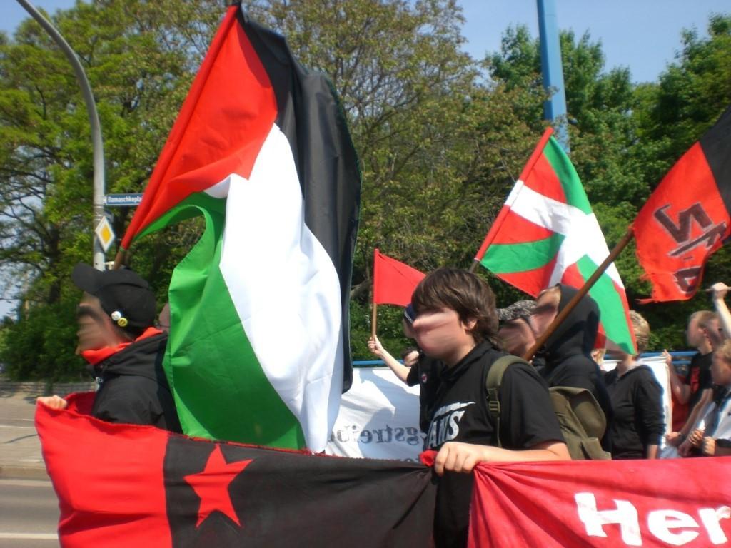 Anti-imperialistisk, autonom blok i Berlin