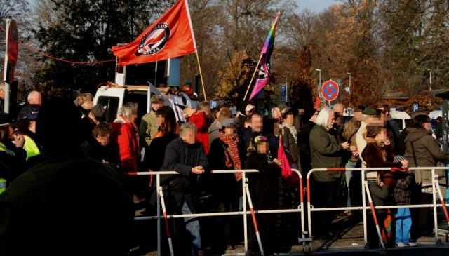 Demonstration mod NPDs landsmøde