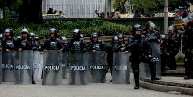 Riotcops i Colombia