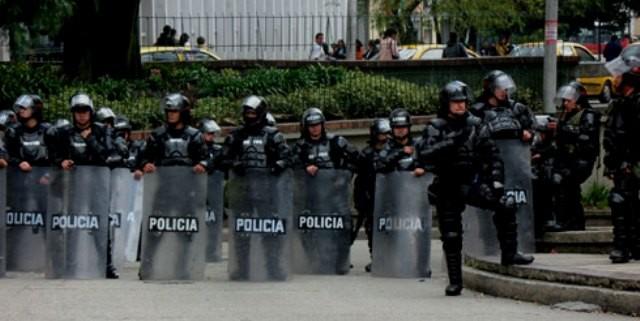 Riotcops i Colombia