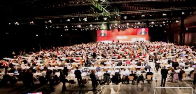 DIE LINKEs partikongres i Göttingen