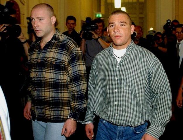 To af de få anholdte nazi kadrer bag pogromen i Rostock i 1992
