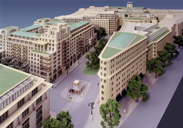 Berlin - Mitte omkring 2017... efter afsluttet gentrificering ...