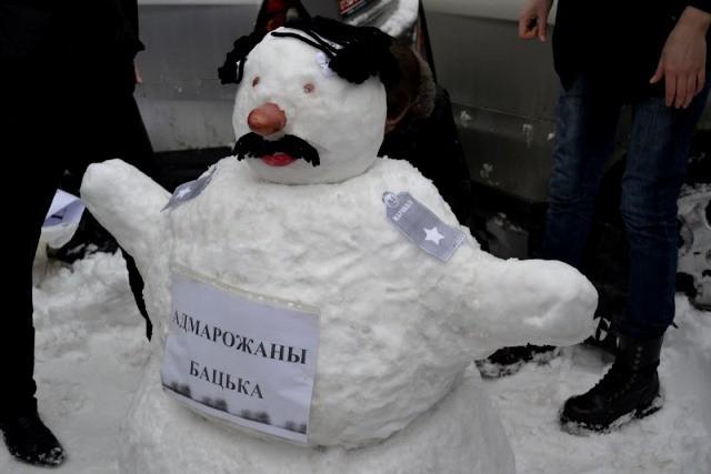 præsident Janukovitj som sneMAND