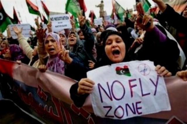 Kvindedemo i Benghazi