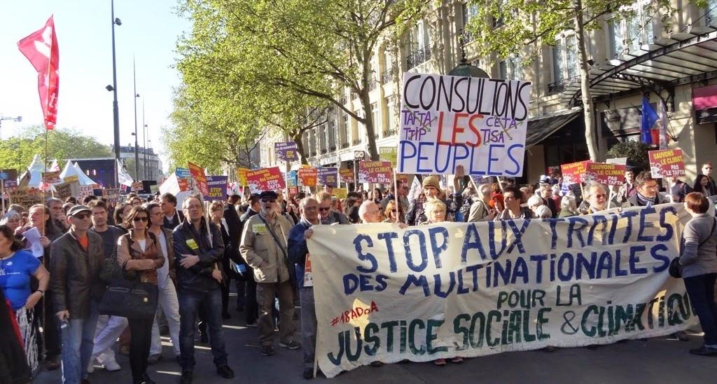 klimademo i Paris