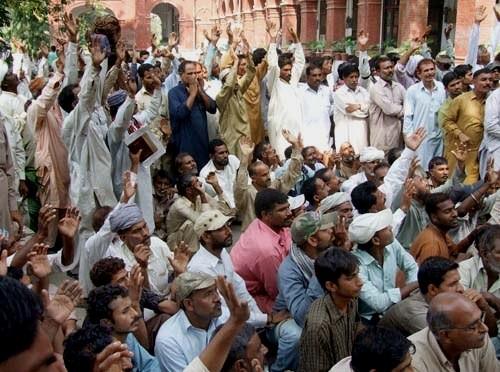 Jernbanearbejderstrejke i Lahore