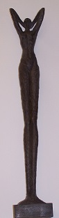 Statue, 15cmx15cmx87cm, Polyresin, 99,-€*